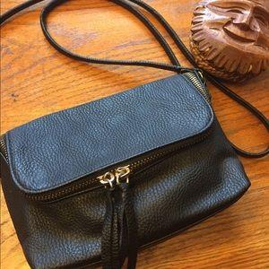 H&M Fringe Zipper Mini Purse (NWOT)